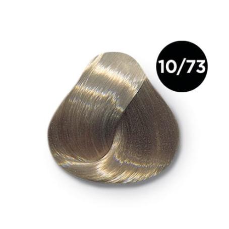 10_73 Ollin silk touch перманентная крем краска