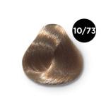 Ollin Performance 10.73 светлый блондин коричнево-золотистый. Перманентная стойкая крем-краска с комплексом VIBRA RICHE, 60 мл