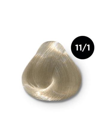 Ollin Color 11.1 специальный блондин пепельный, 60 мл/100 мл. Перманентная крем краска для волос