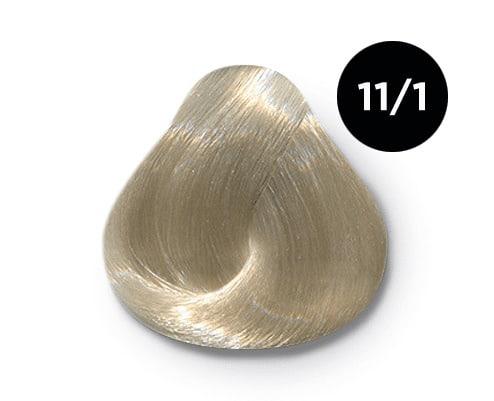 11 1 copy - Ollin Color 11.1 специальный блондин пепельный, 60 мл/100 мл. Перманентная крем краска для волос