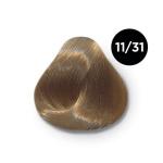 Ollin Color 11.31 специальный блондин золотисто пепельный, 60 мл/100 мл. Перманентная крем краска для волос