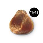 Ollin Color 11.43 специальный блондин медно золотистый, 60 мл/100 мл. Перманентная крем краска для волос