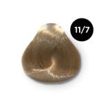 Ollin Color 11.7 специальный блондин коричневый, 60 мл/100 мл. Перманентная крем краска для волос