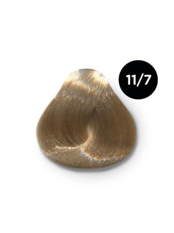 Ollin Performance  11.7 специальный блондин коричневый. Перманентная стойкая крем-краска с комплексом VIBRA RICHE, 60 мл