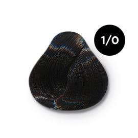 Ollin Color 1.0 иссиня черный, 60 мл/100 мл. Перманентная крем краска для волос