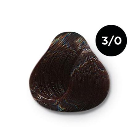3 0 крем краска Ollin color 454x454 - Ollin Color 3.0 темный шатен, 60 мл/100 мл. Перманентная крем краска для волос