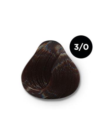 Ollin Silk Touch 3.0 темный шатен 60 мл. Безаммиачный стойкий краситель для волос