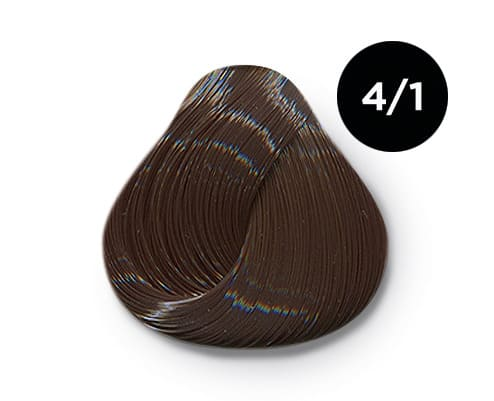 4 1 крем краска Ollin color - Ollin Color 4.1 шатен пепельный, 60 мл/100 мл. Перманентная крем краска для волос