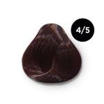 Ollin Color 4.5 шатен махагоновый, 60 мл/100 мл. Перманентная крем краска для волос