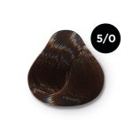 Ollin Color 5.0 светлый шатен, 60 мл/100 мл. Перманентная крем краска для волос