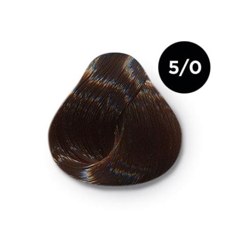 5 0 крем краска Ollin color 454x454 - Ollin Color 5.0 светлый шатен, 60 мл/100 мл. Перманентная крем краска для волос