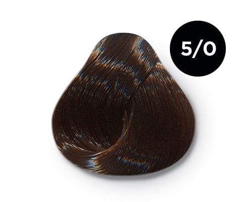 5 0 крем краска Ollin color - Ollin Color 5.0 светлый шатен, 60 мл/100 мл. Перманентная крем краска для волос