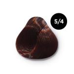 Ollin Color 5.4 светлый шатен медный, 60 мл/100 мл. Перманентная крем краска для волос