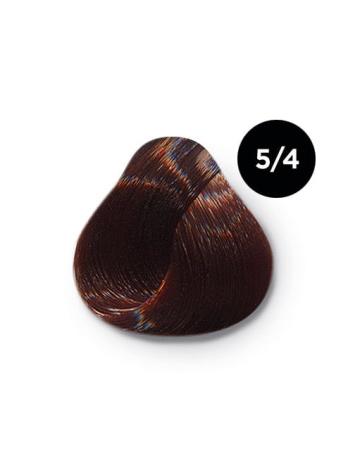 5 4 крем краска Ollin color 348x464 - Ollin Color 5.4 светлый шатен медный, 60 мл/100 мл. Перманентная крем краска для волос