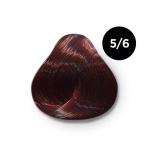 Ollin Color 5.6 светлый шатен красный, 60 мл/100 мл. Перманентная крем краска для волос