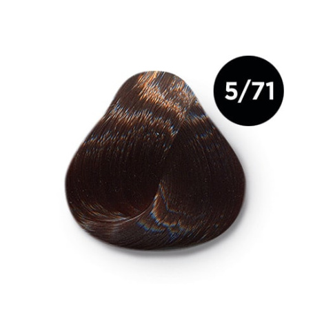 5 71 крем краска Ollin color 454x454 - Ollin Color 5.71 светлый шатен коричнево пепельный, 60 мл/100 мл. Перманентная крем краска для волос
