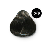 Ollin Silk Touch 5.9 светлый шатен прозрачно зеленый 60 мл. Безаммиачный стойкий краситель для волос