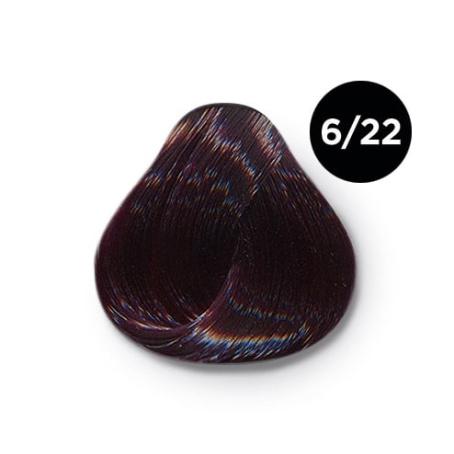 6 22 крем краска Ollin color 454x454 - Ollin Color 6.22 темно русый фиолетовый, 60 мл/100 мл. Перманентная крем краска для волос