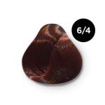 Ollin Color 6.4 темно русый медный, 60 мл/100 мл. Перманентная крем краска для волос