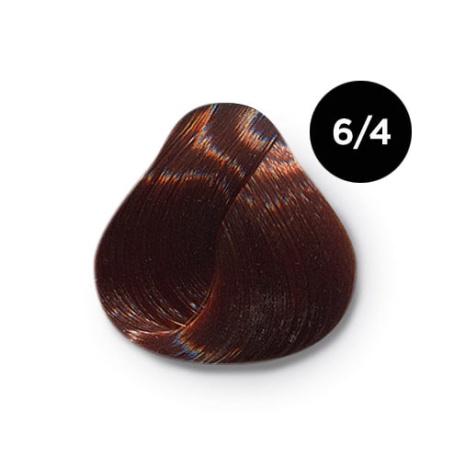 6 4 крем краска Ollin color 454x454 - Ollin Color 6.4 темно русый медный, 60 мл/100 мл. Перманентная крем краска для волос