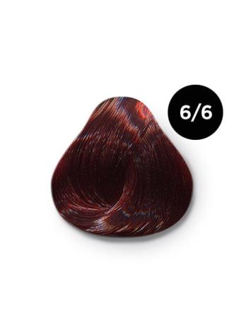 Ollin Color 6.6 темно русый красный, 60 мл/100 мл. Перманентная крем краска для волос