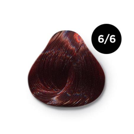 6 6 крем краска Ollin color 454x454 - Ollin Color 6.6 темно русый красный, 60 мл/100 мл. Перманентная крем краска для волос