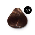 Ollin Color 6.7 темно русый коричневый, 60 мл/100 мл. Перманентная крем краска для волос