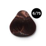 Ollin Color 6.75 темно русый коричнево махагоновый, 60 мл/100 мл. Перманентная крем краска для волос