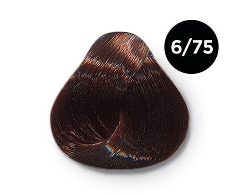 6 75 крем краска Ollin color - Ollin Color 6.75 темно русый коричнево махагоновый, 60 мл/100 мл. Перманентная крем краска для волос