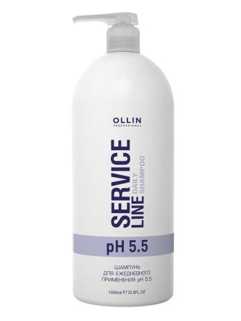 service line ШАМПУНЬ ДЛЯ ЕЖЕДНЕВНОГО ПРИМЕНЕНИЯ PH 5.5 Daily shampoo ph 5.5