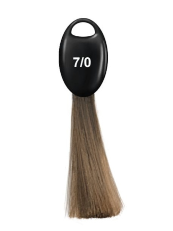 Перманентная крем краска Ollin N-JOY, 7.0 русый, 100 мл
