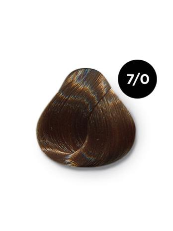 Ollin Color 7.0 русый, 60 мл/100 мл. Перманентная крем краска для волос