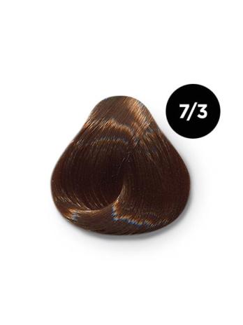 Ollin Color 7.3 русый золотистый, 60 мл/100 мл. Перманентная крем краска для волос