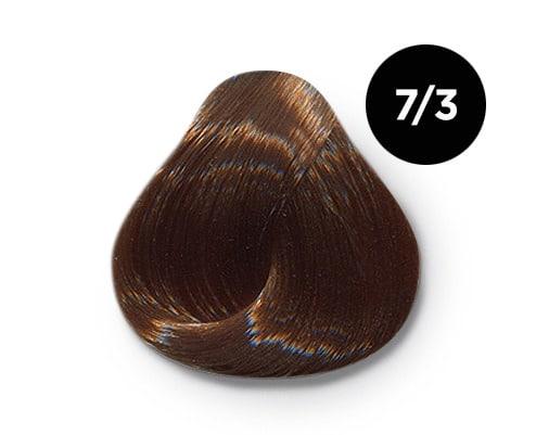 7 3 крем краска Ollin color - Ollin Color 7.3 русый золотистый, 60 мл/100 мл. Перманентная крем краска для волос