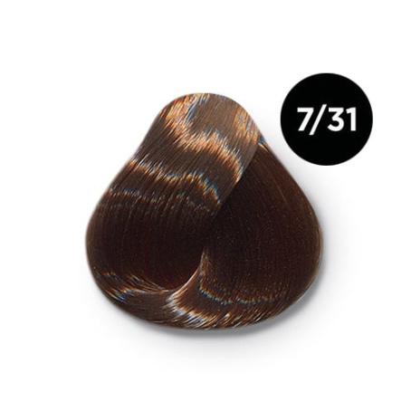 7 31 крем краска Ollin color 454x454 - Ollin Color 7.31 русый золотисто пепельный, 60 мл/100 мл. Перманентная крем краска для волос