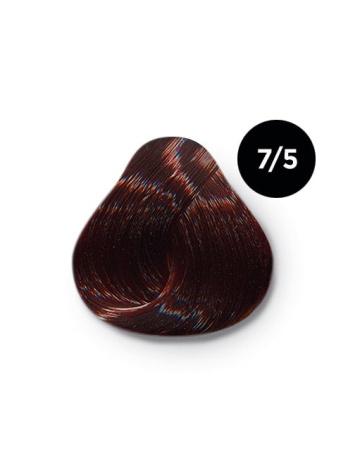Ollin Color 7.5 русый махагоновый, 60 мл/100 мл. Перманентная крем краска для волос