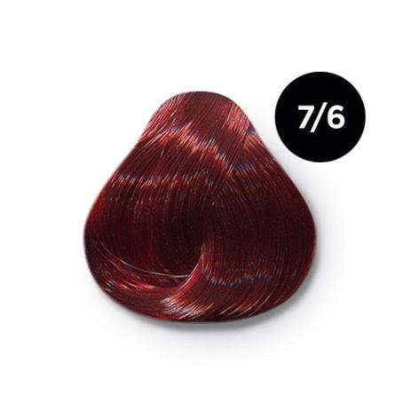 7 6 крем краска Ollin color 454x454 - Ollin Color 7.6 русый красный, 60 мл/100 мл. Перманентная крем краска для волос
