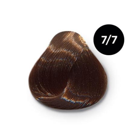 7 7 крем краска Ollin color 454x454 - Ollin Color 7.7 русый коричневый, 60 мл/100 мл. Перманентная крем краска для волос