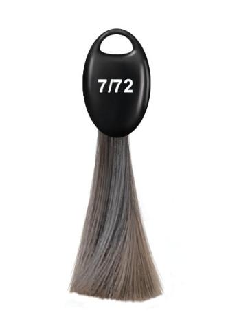 Перманентная крем краска Ollin N-JOY, 7.72 русый коричнево фиолетовый, 100 мл
