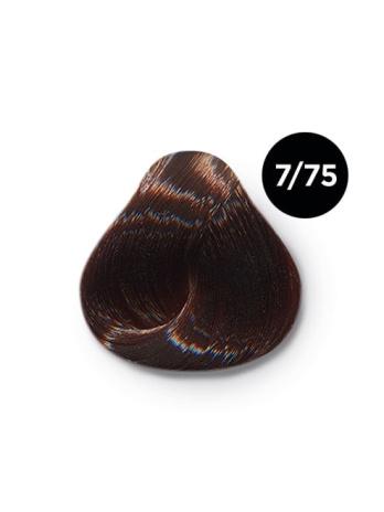 7 75 крем краска Ollin color 348x464 - Ollin Color 7.75 русый коричнево махагоновый, 60 мл/100 мл. Перманентная крем краска для волос