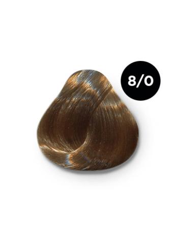 Ollin Silk Touch 8.0 светло русый 60 мл. Безаммиачный стойкий краситель для волос