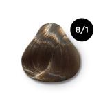 Ollin Color 8.1 светло русый пепельный, 60 мл/100 мл. Перманентная крем краска для волос