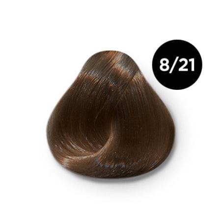 8 21 крем краска Ollin color 454x454 - Ollin Color 8.21 светло русый фиолетово пепельный, 60 мл/100 мл. Перманентная крем краска для волос