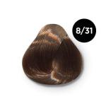 Ollin Color 8.31 светло русый золотисто пепельный, 60 мл/100 мл. Перманентная крем краска для волос