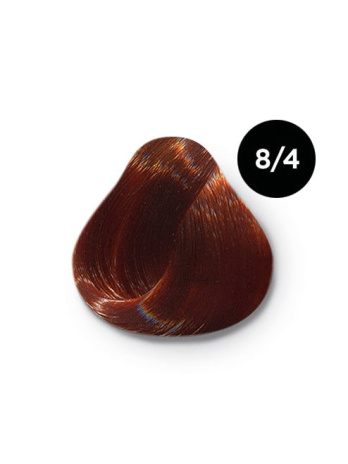 8 4 крем краска Ollin color 348x464 - Ollin Color 8.4 светло русый медный, 60 мл/100 мл. Перманентная крем краска для волос