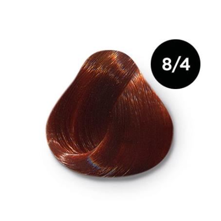 8 4 крем краска Ollin color 454x454 - Ollin Color 8.4 светло русый медный, 60 мл/100 мл. Перманентная крем краска для волос