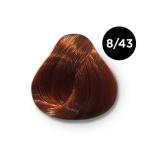 Ollin Color 8.43 светло русый медно золотистый, 60 мл/100 мл. Перманентная крем краска для волос