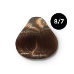 Ollin Silk Touch 8.7 светло русый коричневый 60 мл. Безаммиачный стойкий краситель для волос