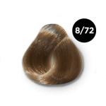 Ollin Silk Touch 8.72 светло русый коричнево фиолетовый 60 мл. Безаммиачный стойкий краситель для вол