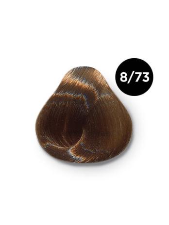 8 73 крем краска Ollin color 348x464 - Ollin Color 8.73 светло русый коричнево золотистый, 60 мл/100 мл. Перманентная крем краска для волос